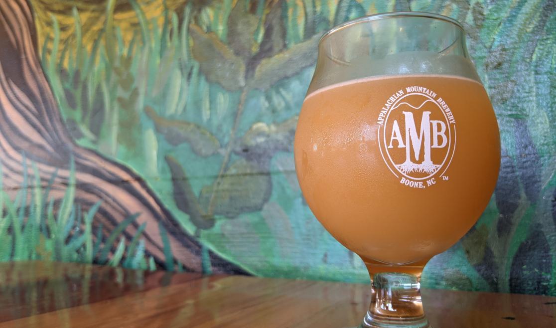 Appalachian Mountain Brewery Hazy Beer
