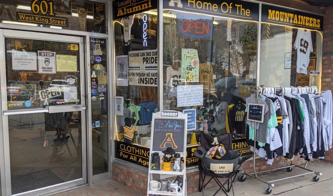 Appalachian Sportswear Storefront