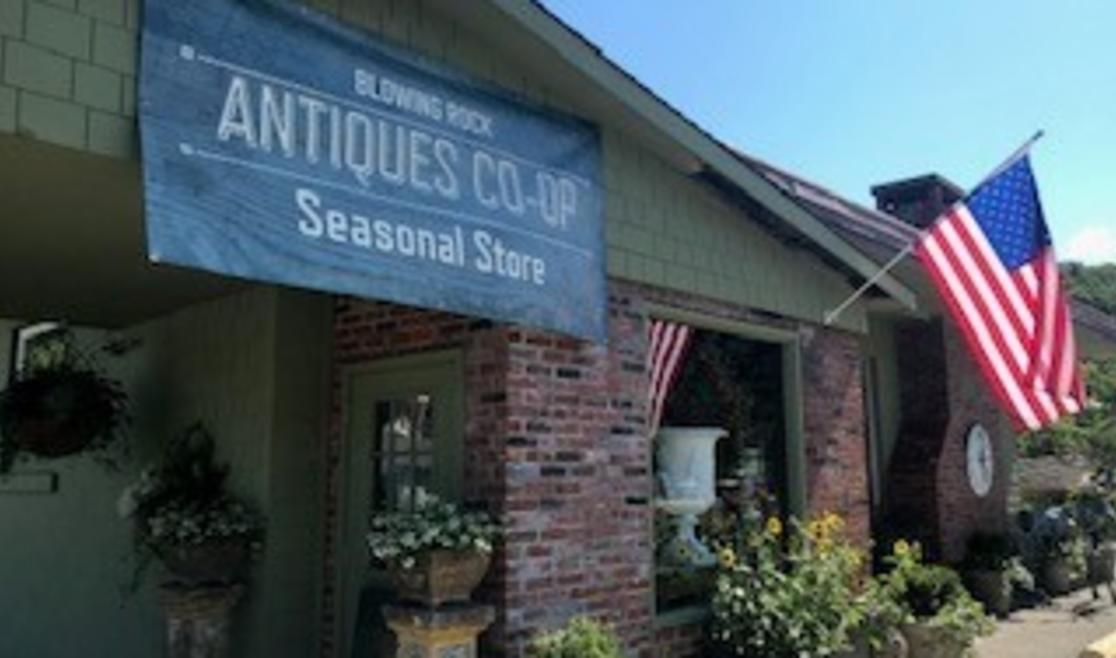 Antiques Seasonal Store in Blowing Rock