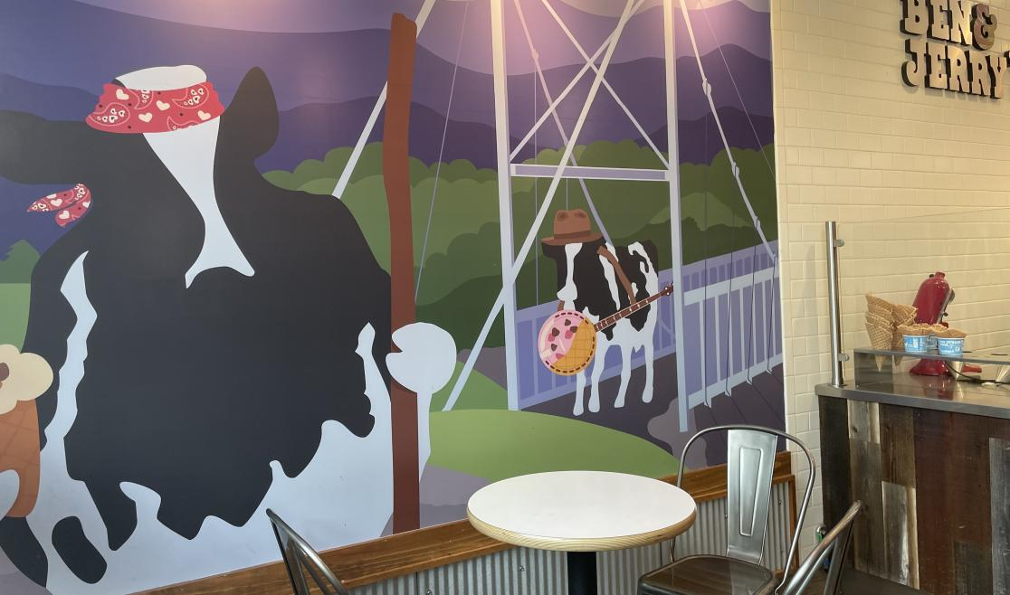 Ben and Jerry's Mural