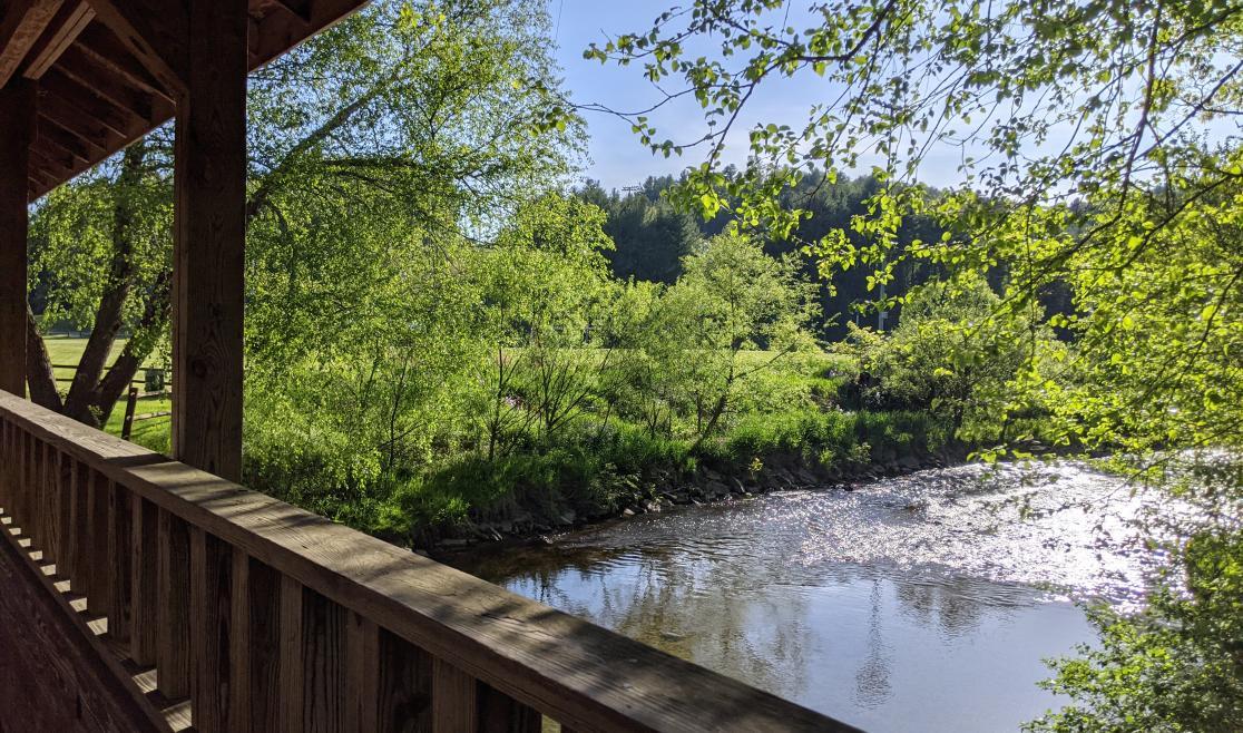 Boone Greenway River