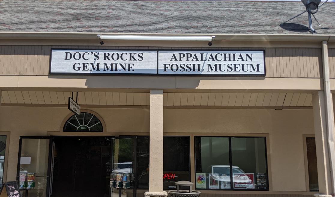 Doc's Rock's Gem Mine Entrance