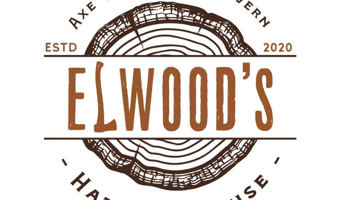 Elwood's Hatchet House Logo