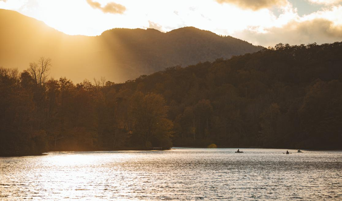 Julian Price Lake by Sam Dean