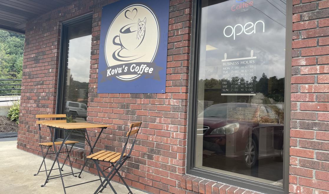 Kovu's Coffee Exterior