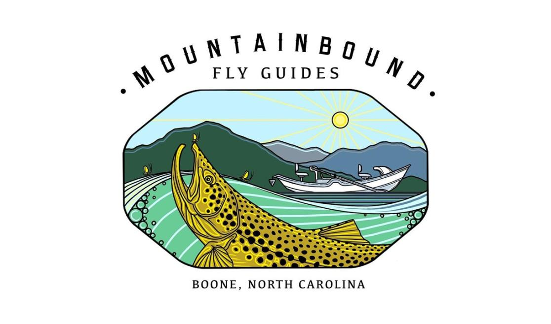 MountainBound Fly Guides Logo
