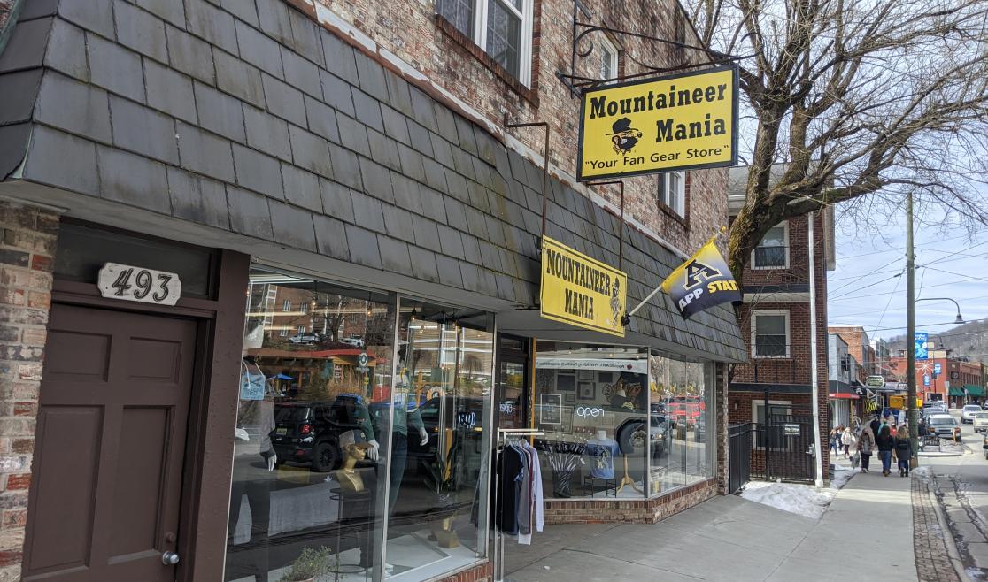 Mountaineer Mania Storefront