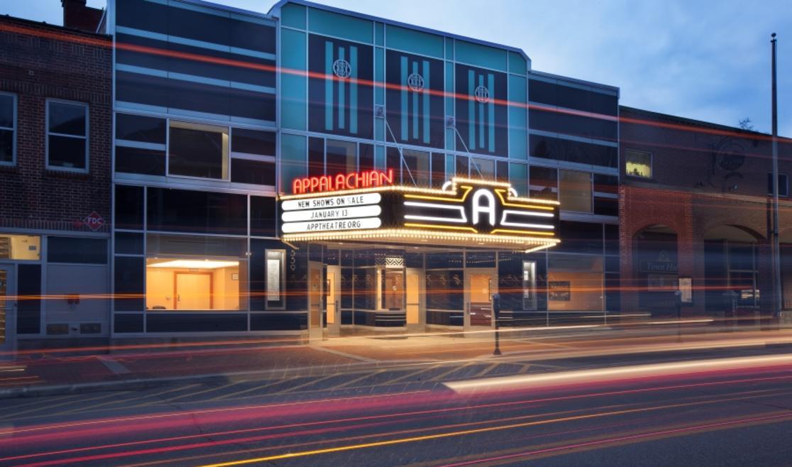 Appalachian Theatre 2020 Exterior