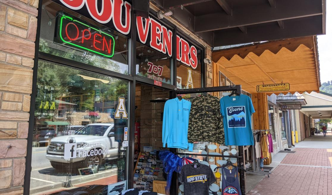 High Country Souvenirs Storefront