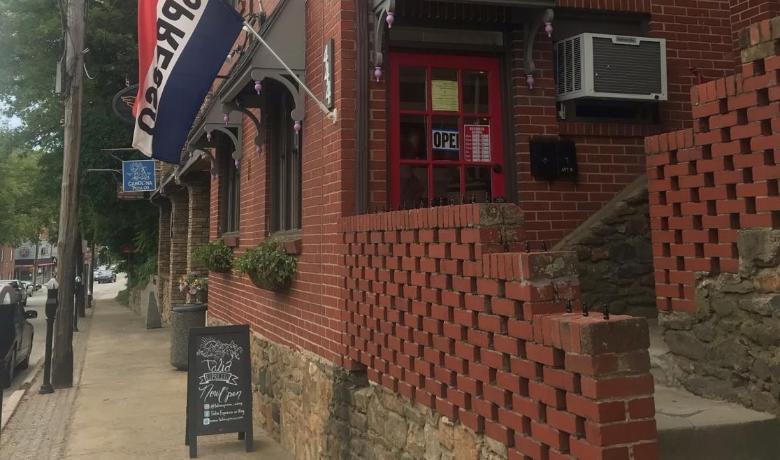 Talia Espresso Entrance on King Street