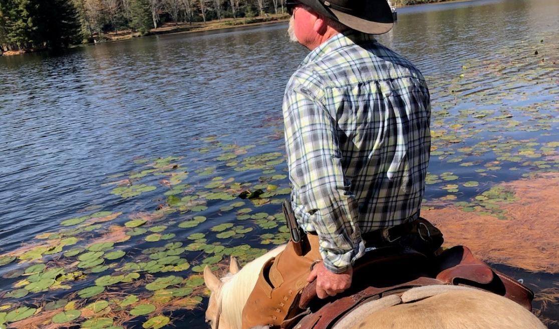 Tim Vines at Bass Lake
