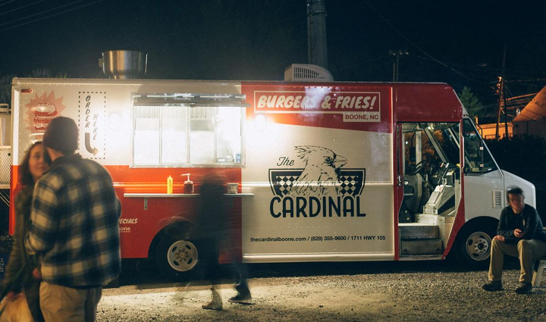 The Cardinal Burger Wagon