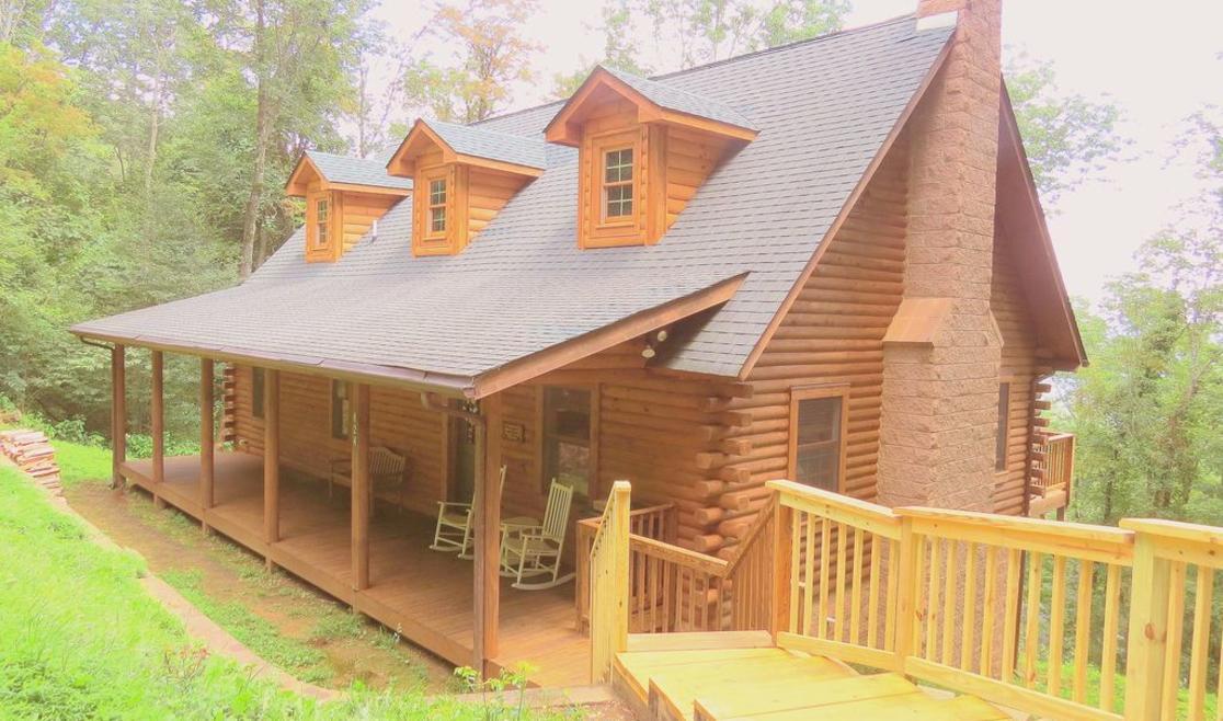 Alpine Log Cabin