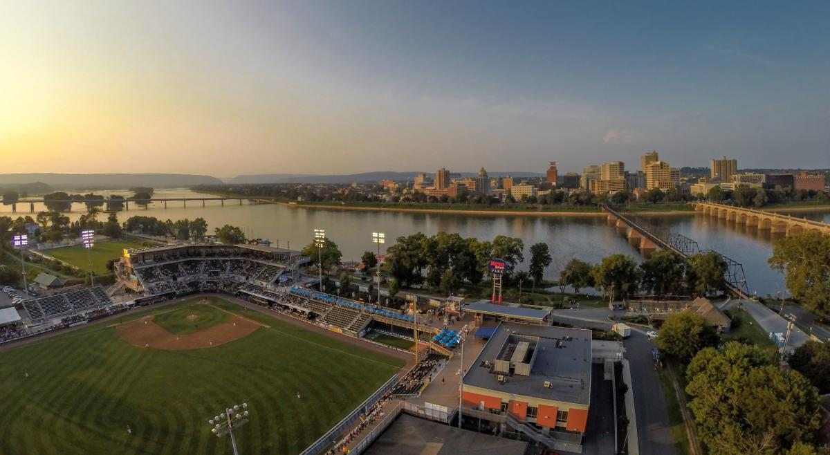 City-Harrisburg Skyline-Senator's Ballpark