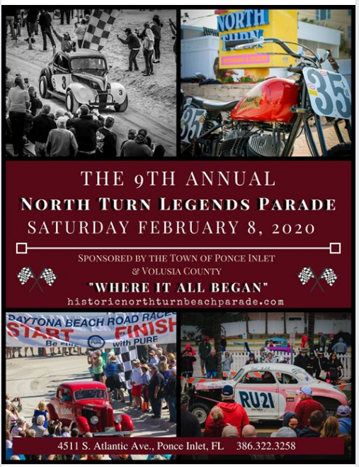 North Turn Legends Parade Flier