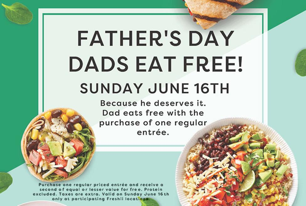 Freshii Father's Day