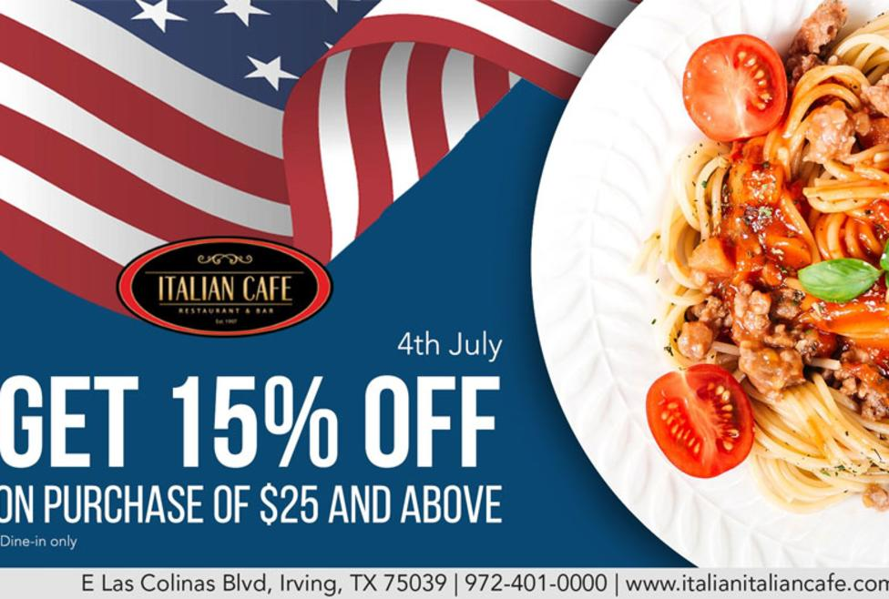 July 4 Italian Cafe