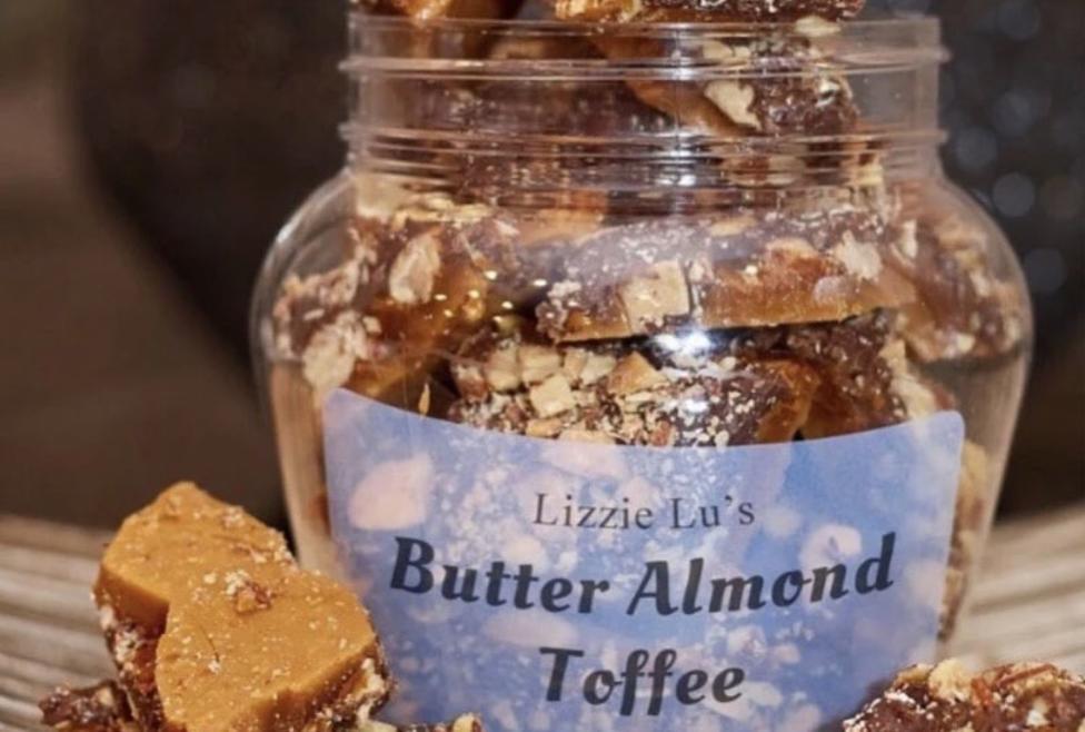 Lizzie Lu Butter Almond Toffee