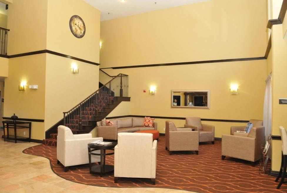 Best Western Plus Irving Lobby