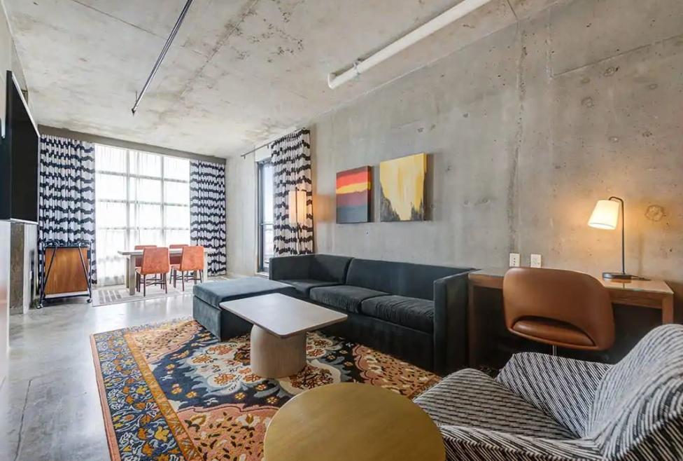 Skyline Suite Living Area