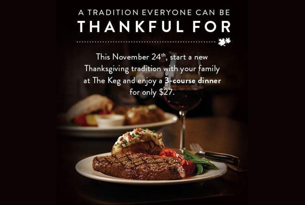 Keg Thanksgiving