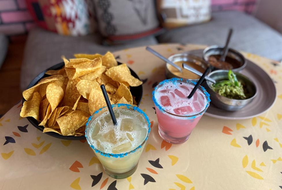 Two Mules Cantina Texas Trio