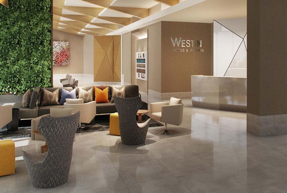Westin ICC Lobby