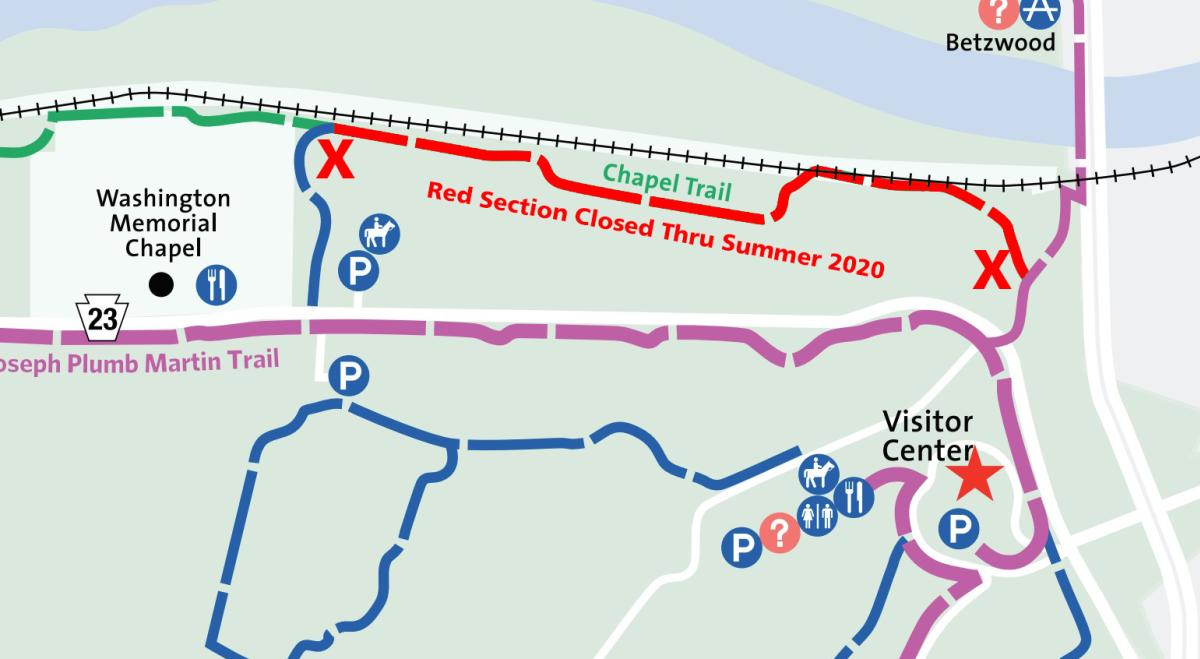 Chapel Trail Closure 1