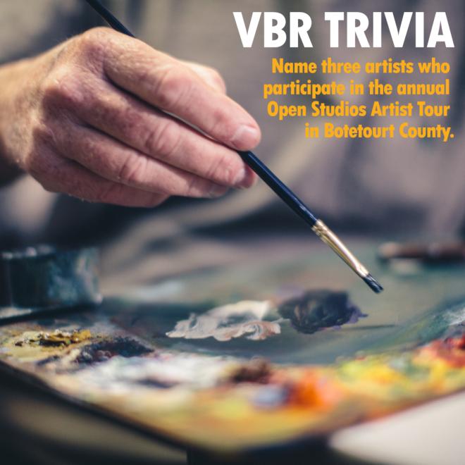 VBR Trivia - Open Studios Botetourt