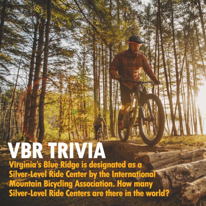 VBR Trivia - IMBA Silver-Level Ride Center