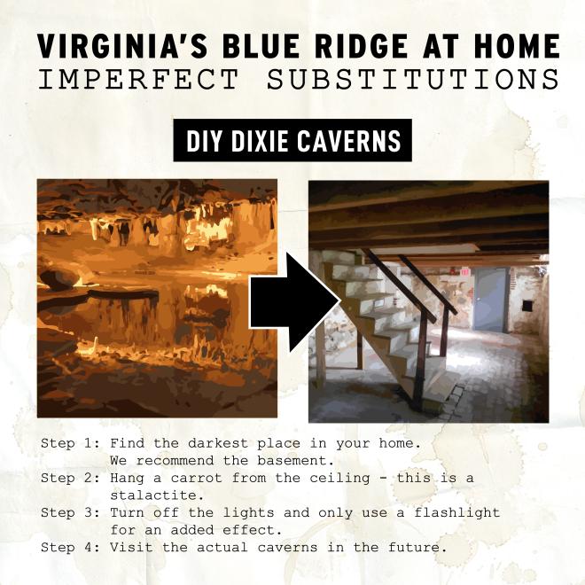 Virginia's Blue Ridge at Home - Dixie Caverns Substitute