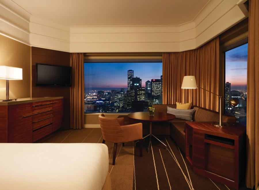 Grand Hyatt Melbourne Club Deluxe Room