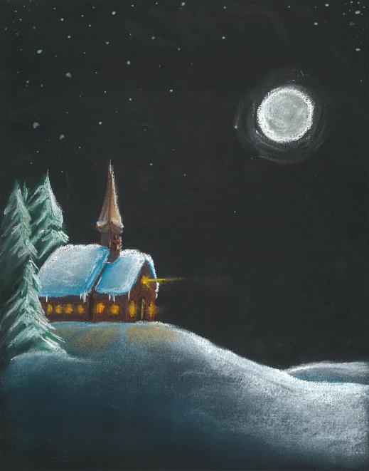 Johnston Now Christmas Drawing
