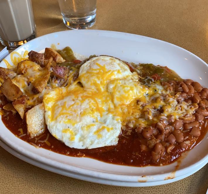 Flying Star Huevos Rancheros