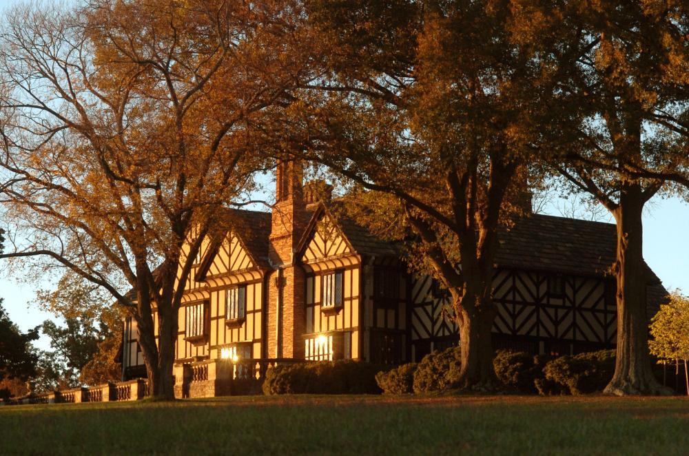 Agecroft Hall Autumn
