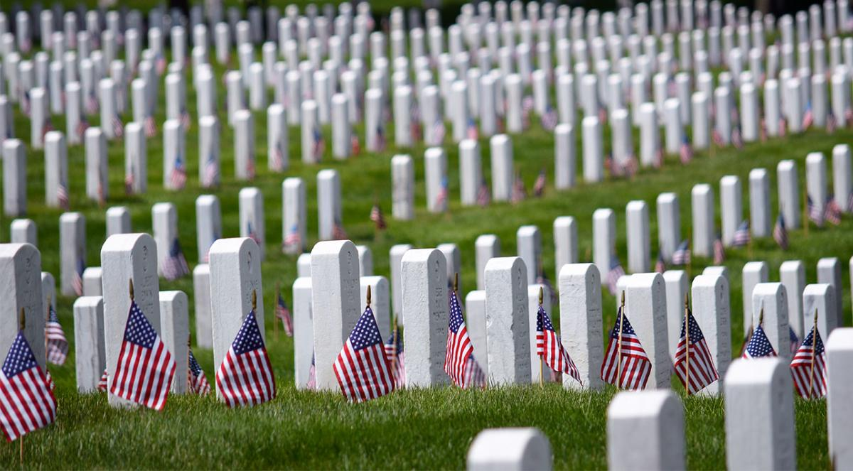 Arlington Cemetery - Memorial Day Header Image