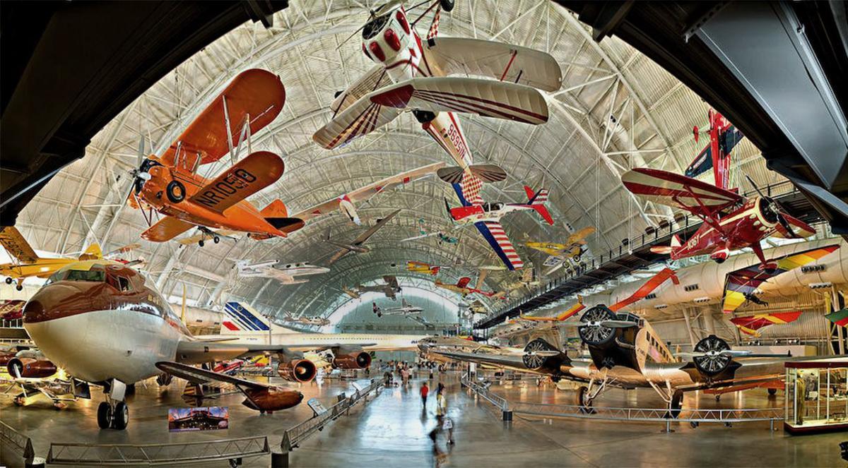 Aviation Hangar - Steven F. Udvar-Hazy Center