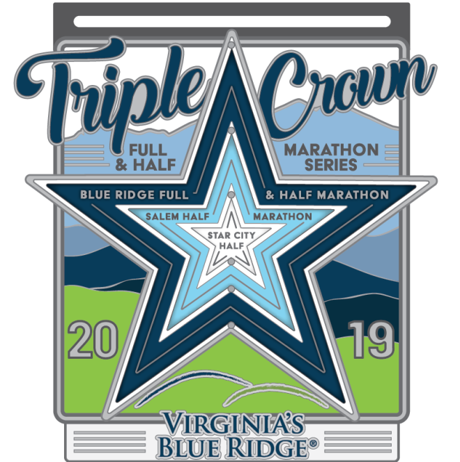 2019 Triple Crown Medal