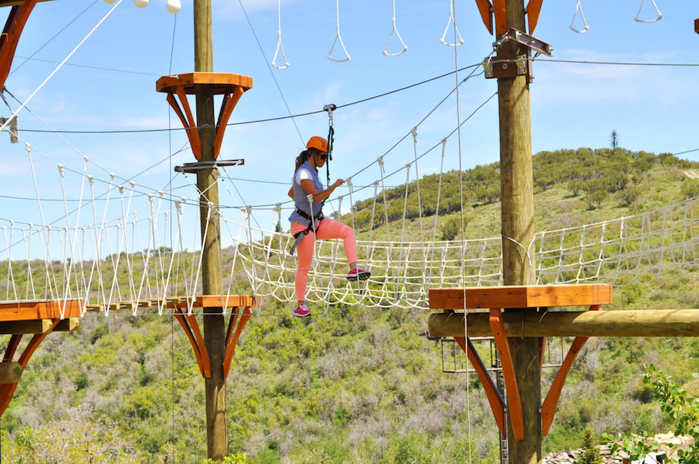Adventure Course at Utah Olympic Park