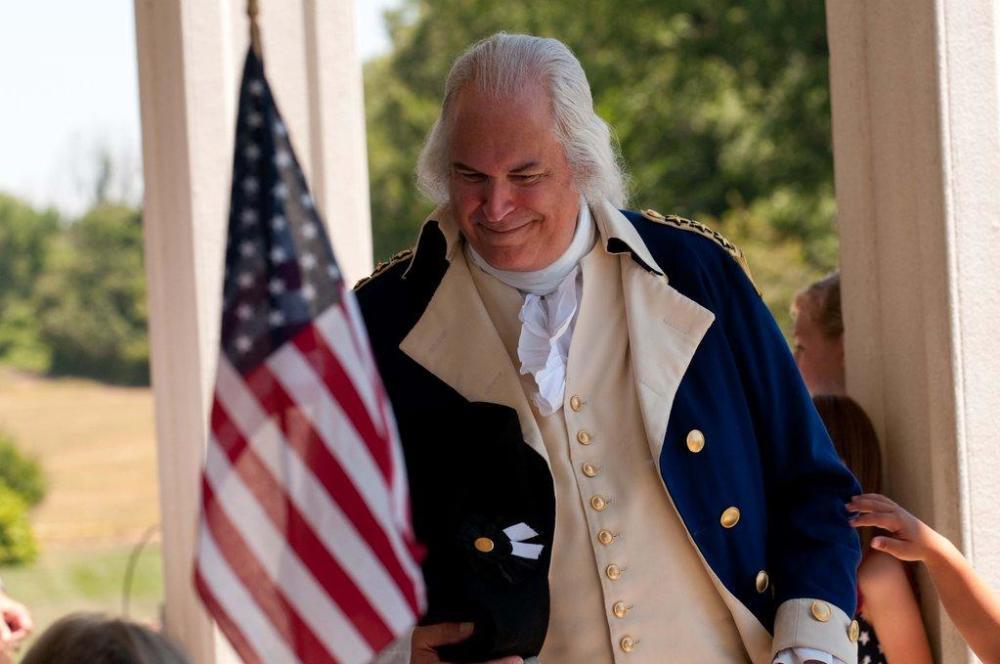 Mount Vernon - George Washington - Flag