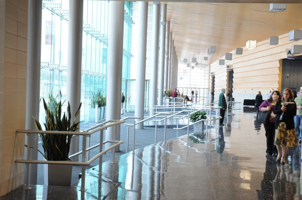 Grand Wayne Center Foyer