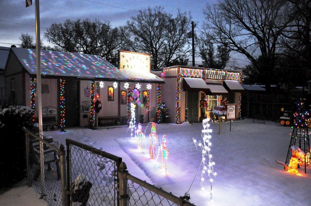 North Pole Express Christmas Lights