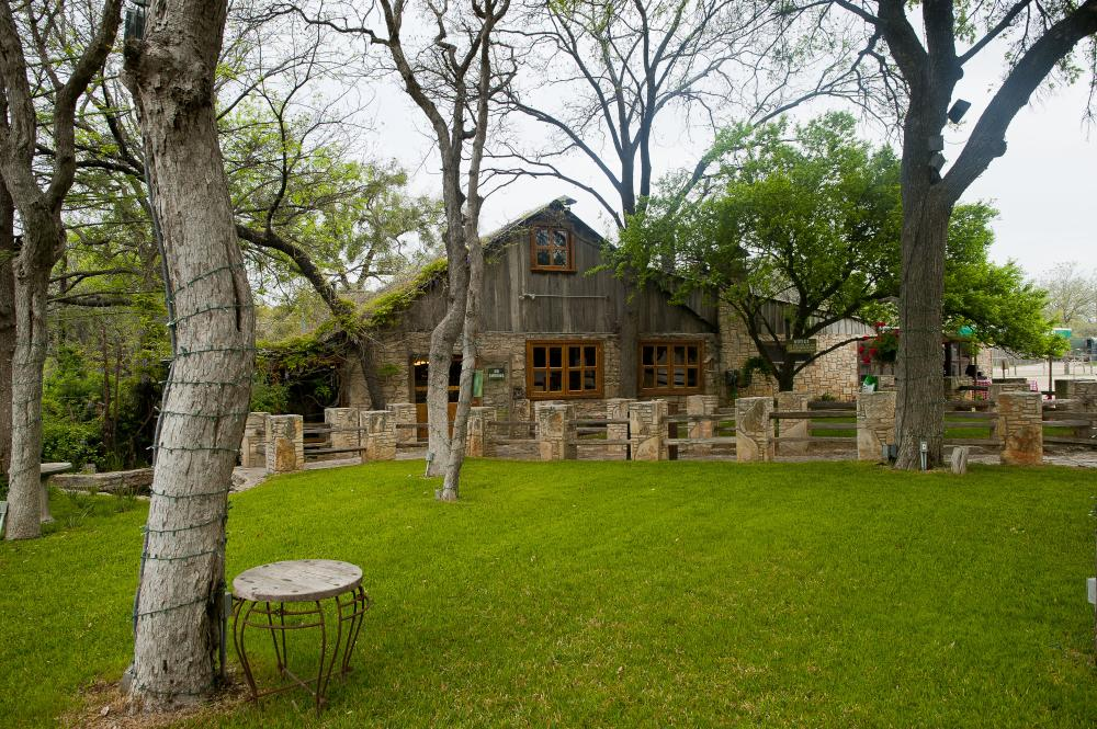 Salt Lick exterior in Driftwood Texas