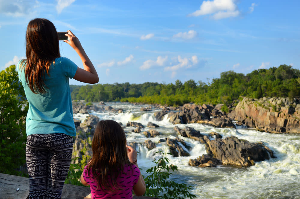 Great Falls Park - Family