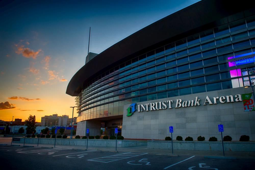 INTRUST Bank Arena in Wichita KS is an event venue large enough for concerts, trade shows, conventions and sporting events