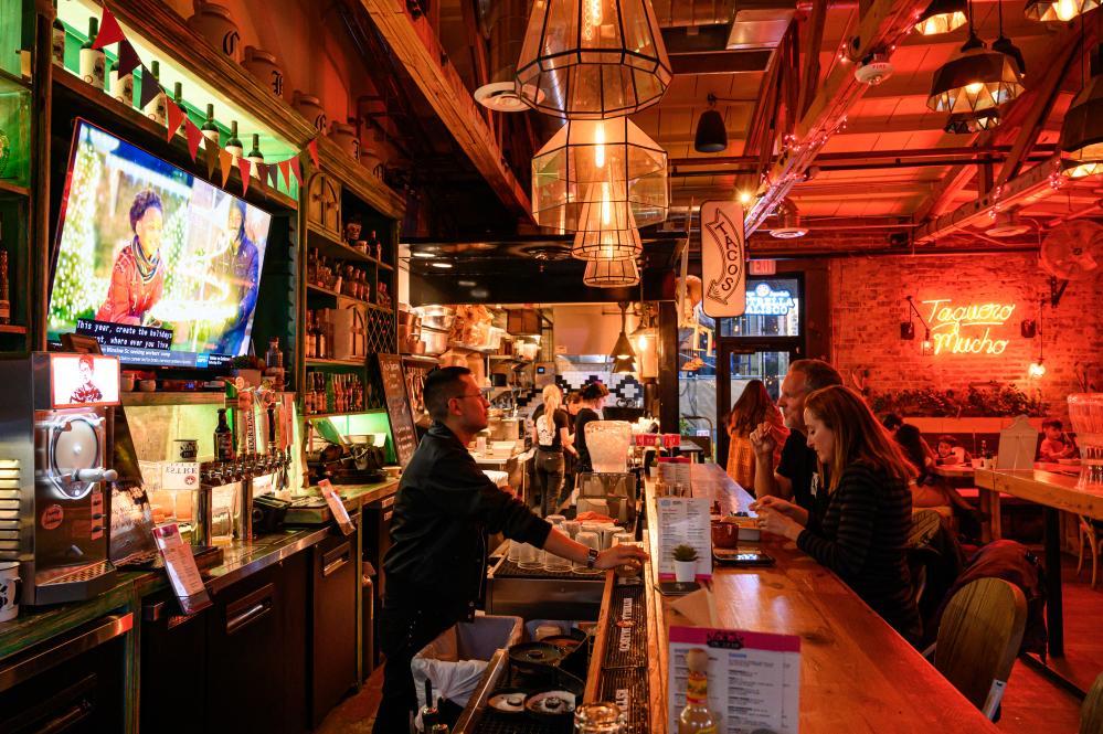 Bar at Taco Chelo