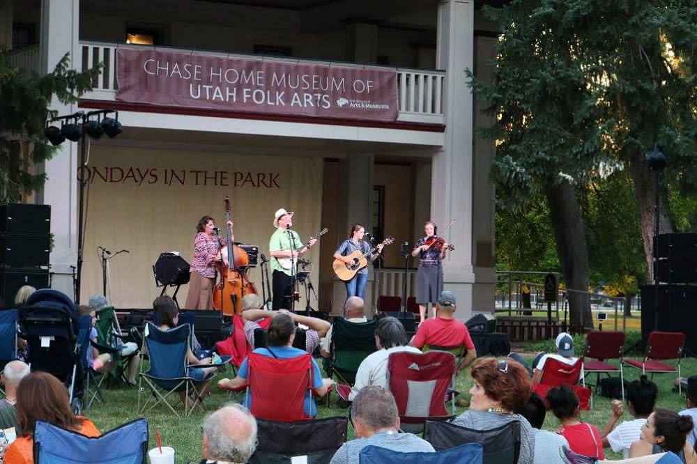 Blue Sage Band at Chase Home Museum of Utah Folk Arts