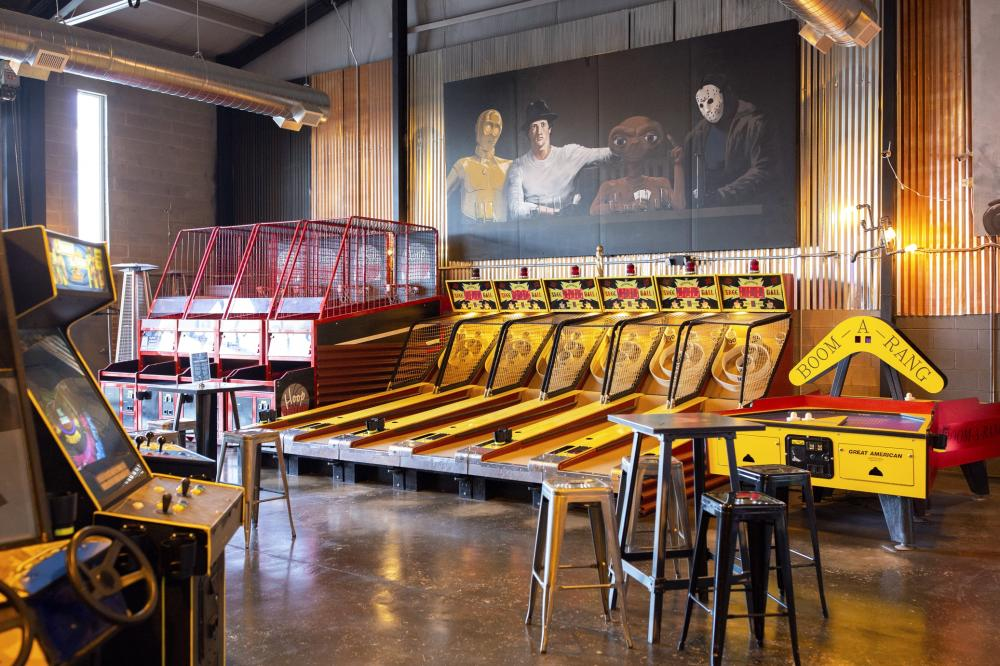 The Circuit Arcade Bar