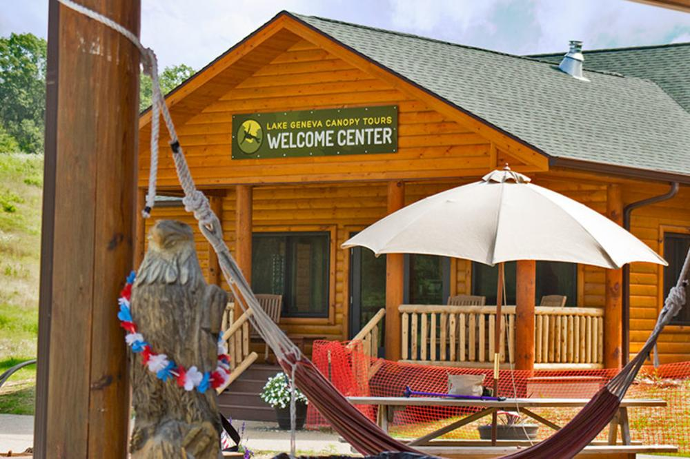 Welcome Center and Hammocks