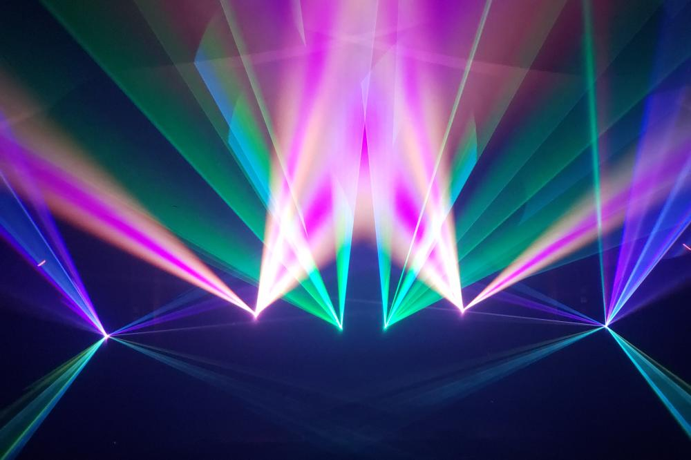 Laser Fusion presents 'Visual Music' -